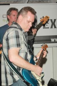 Exit Row Band - Shawn layin' the rhythm