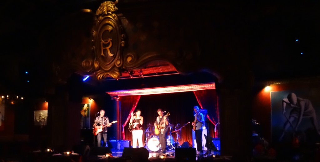 Exit Row Band at the Cutting Room NYC