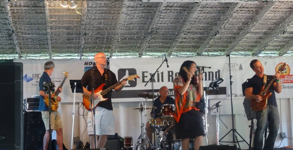 NJ Private Event Band Exit Row donates performance for charity