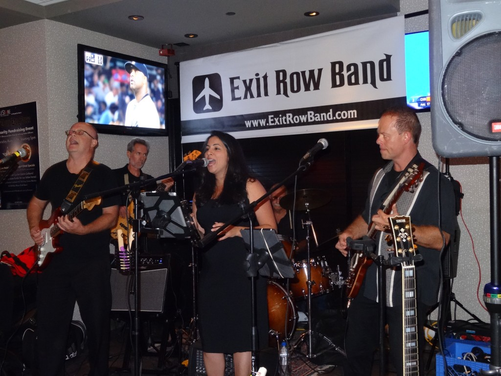 Top NJ Cover Band Exit Row Band at Grillestone