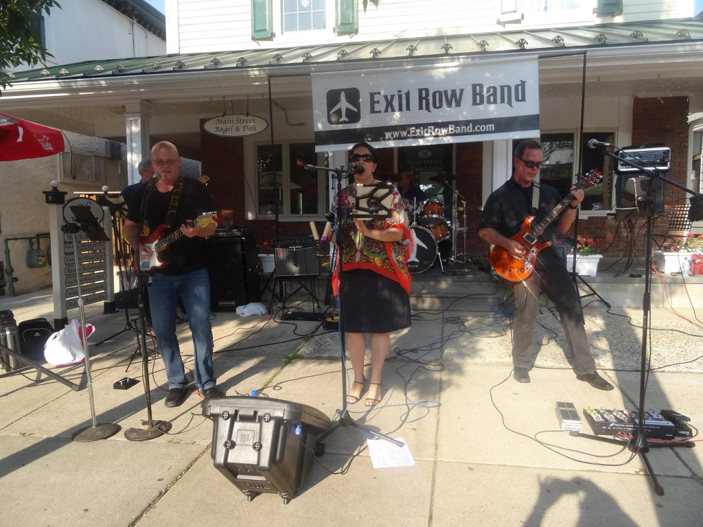 NJ Private Function Band Exit Row plays live for Flemington