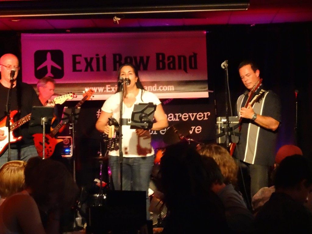 NJ Private Event Band Exit Row rocks 10th Street Live