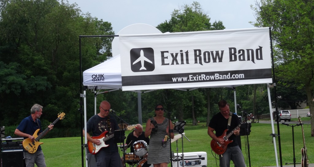 NJ Event Band Exit Row Band performs concert for Manville